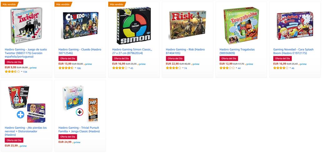 8 Juegos De Mesa Hasbro Rebajados Hasta Un 30 En Amazon Chollazo