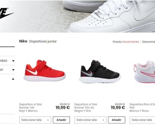 Nike en privalia
