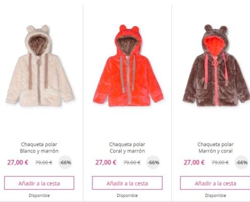 abrigos bebe baratos